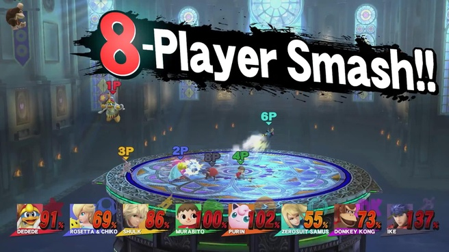 Super Smash Bros Wii U 8