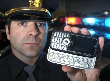 Politie doorzoeking telefoon