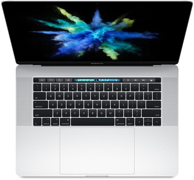 "Apple MacBook Pro 2017 15,4"", i7 2,8GHz, 256GB ssd Zilver"