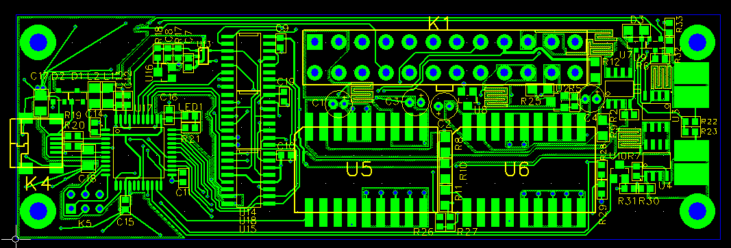 PCB layout of MADPSU - top layer