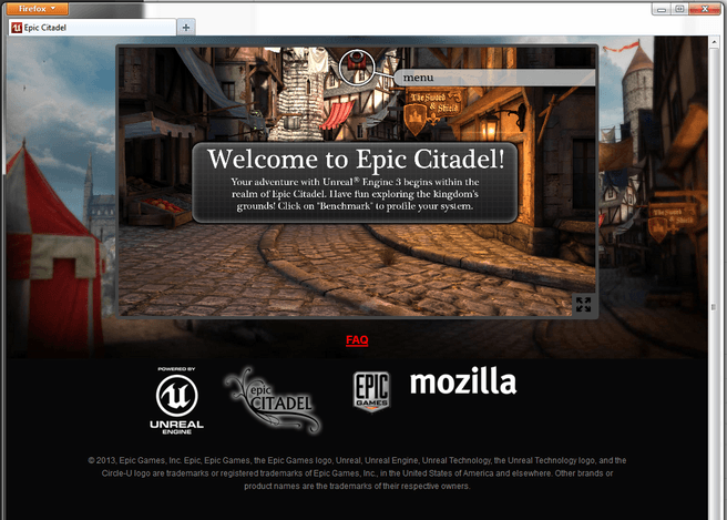 Unreal 3-engine in Firefox