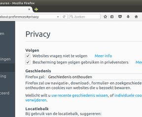 Firefox 42 nieuwe privacy-opties