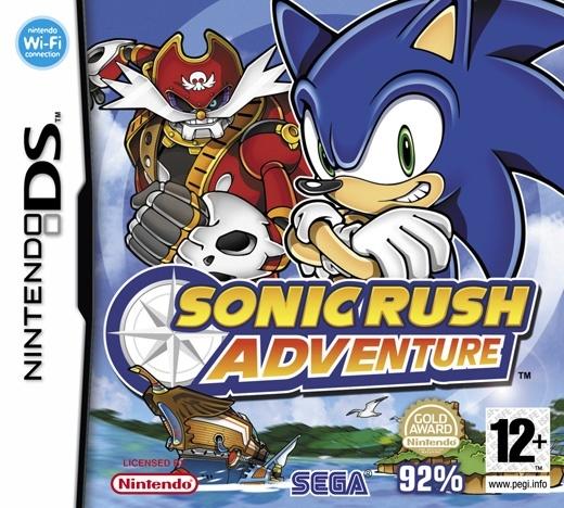 Packshot voor Sonic Rush Adventure