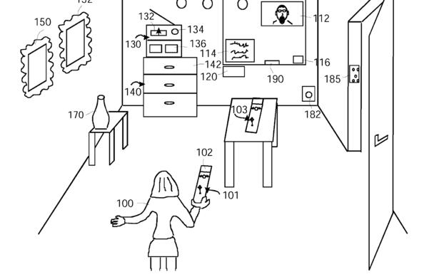 Philips-patent voor 'wii-mote'