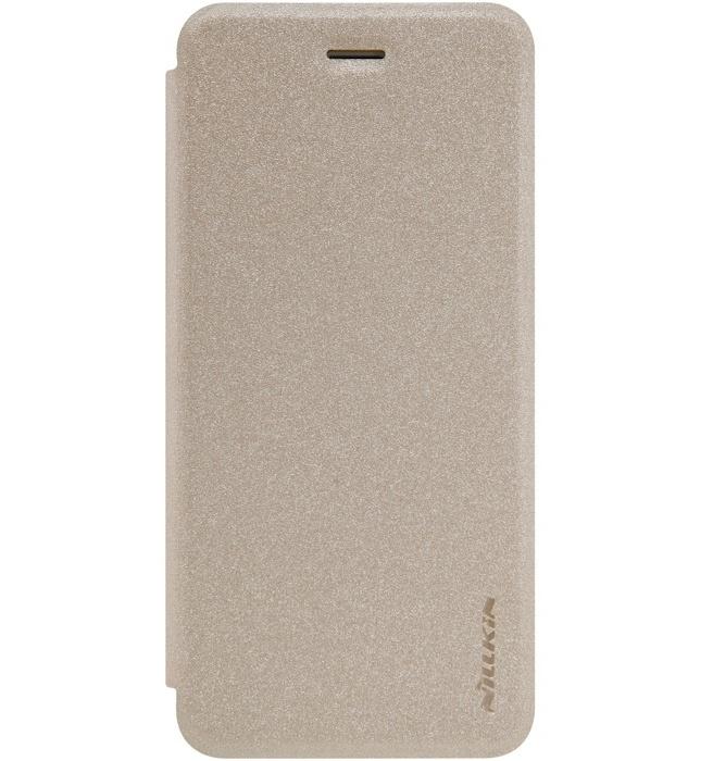 "Nillkin New Sparkle Book Case voor Apple iPhone 7 (4.7"") - Goud"