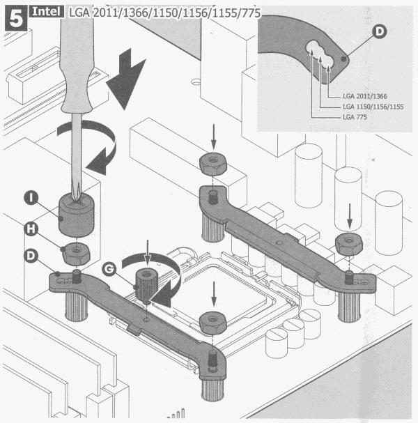 plaatsing van de brugplaten op de afstandshouders