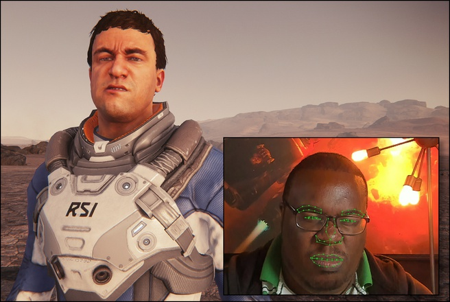 Star Citizen Faceware