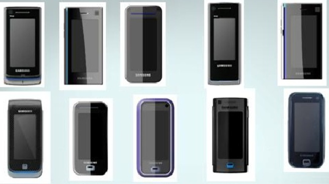 Apple vs Samsung: Samsungs designs uit 2006