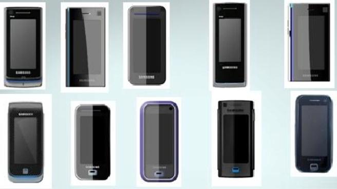 Apple vs Samsung: Samsungs designs uit 2006