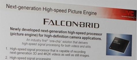 JVC Falconbrid 4K-camcorder CES 2012
