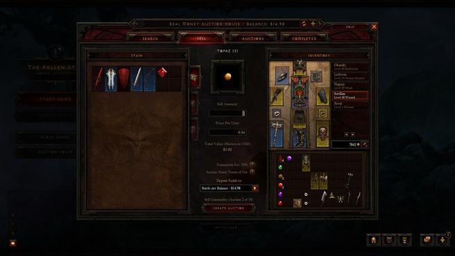 Het real-money action house in Diablo III