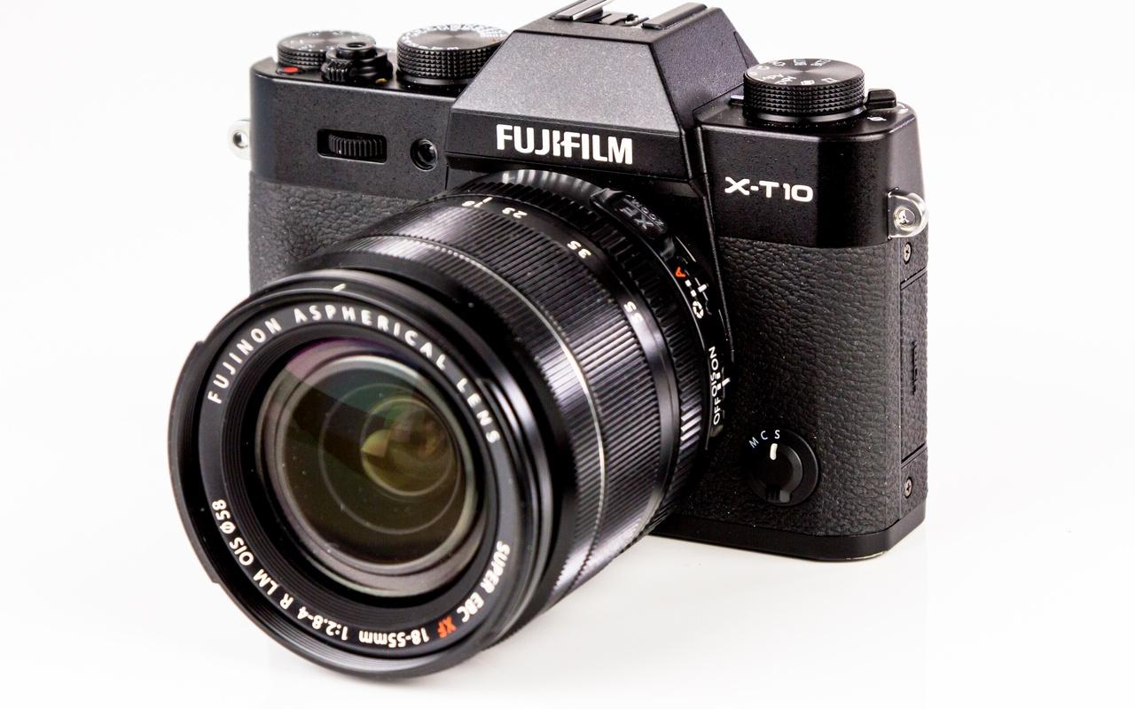 X-T10 productfoto's