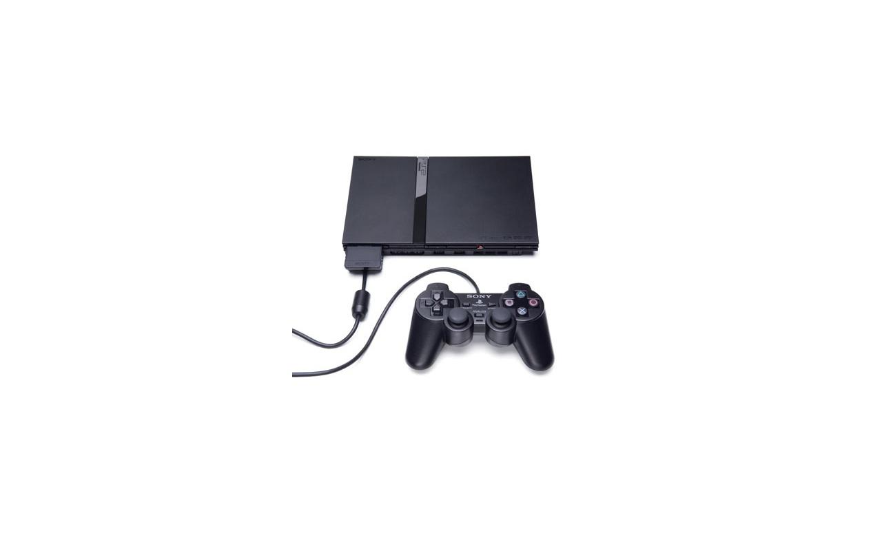 Sony PlayStation 2 Zwart