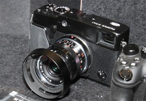 Fujifilm M-mount lensdapter voor X-Pro1