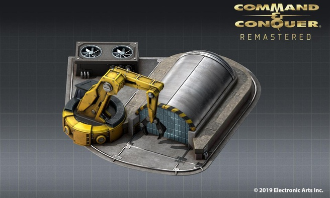 Command & Conquer Remaster Con Yard