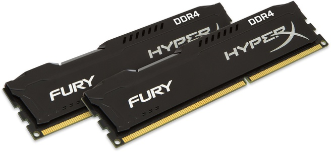 Kingston FURY Memory Black 8GB Kit (2x4GB) DDR4 2400MHz CL15 DIMM