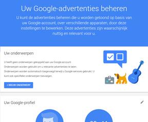 Google wijzigt Mijn activiteiten-scherm