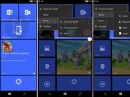 Windows 10 Mobile Cshell (juni 2017)