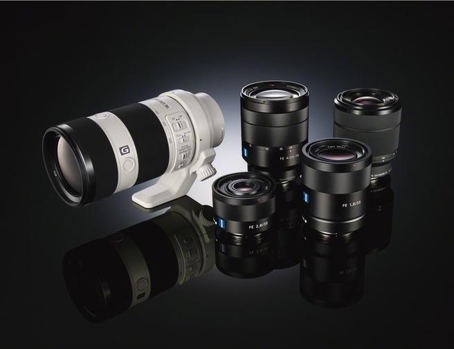 Sony brengt twee spiegelloze alpha7 camera 39 s met fullframe for Groothoeklens sony alpha