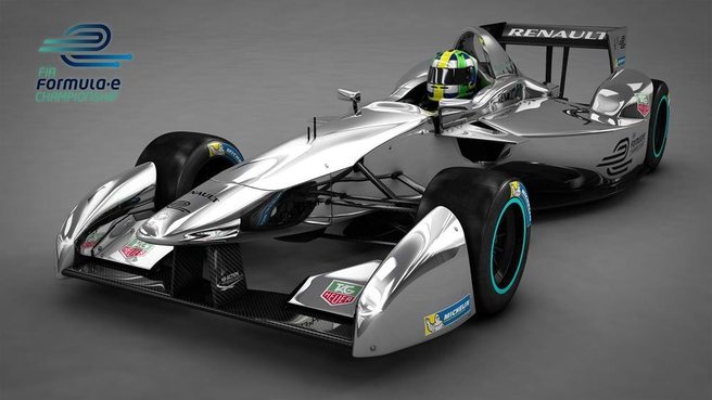 Formula E-auto van Renault