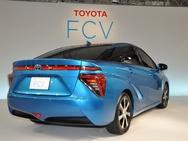 Toyota FCV foto achter