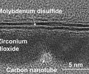 UC Berkeley nanotubes molybdenum disulfide transistor