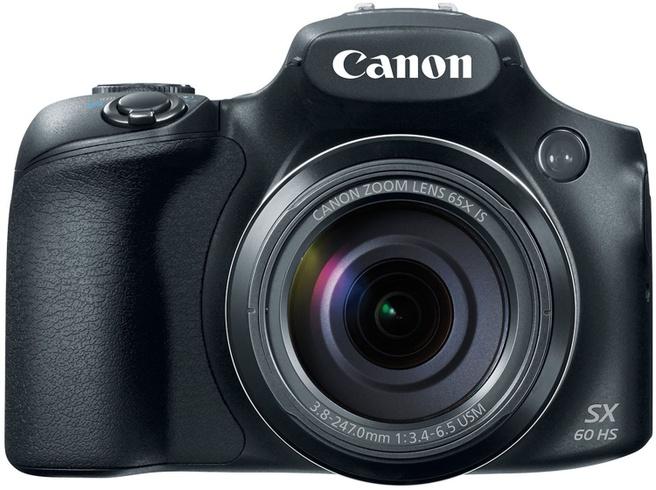 Canon PowerShot SX60 HS Zwart