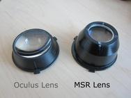 Microsoft Research lens voor Oculus Rift