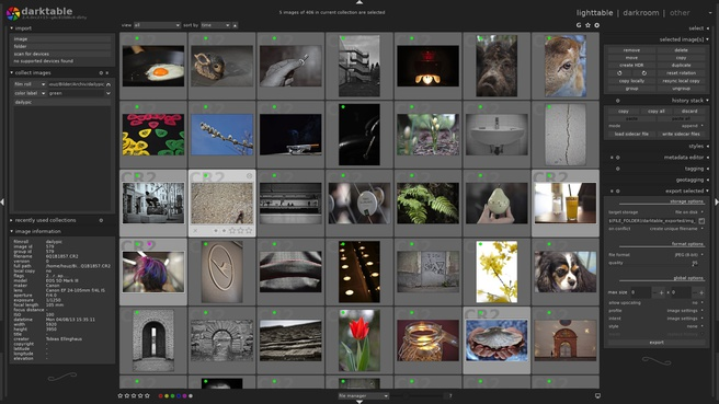 Darktable 2.4