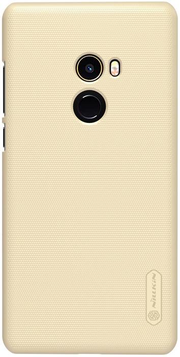 Nillkin Frosted Shield Hard Case voor Xiaomi Mi Mix 2 - Goud Goud