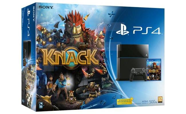 Sony PlayStation 4 + Knack Zwart