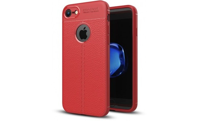 Just in Case Apple iPhone 8 Back Cover Rood