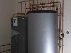 Warmtepomp en boiler