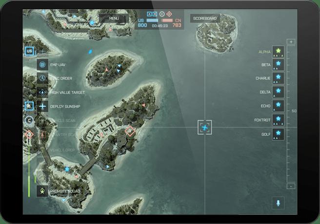 Commander Mode voor iOS