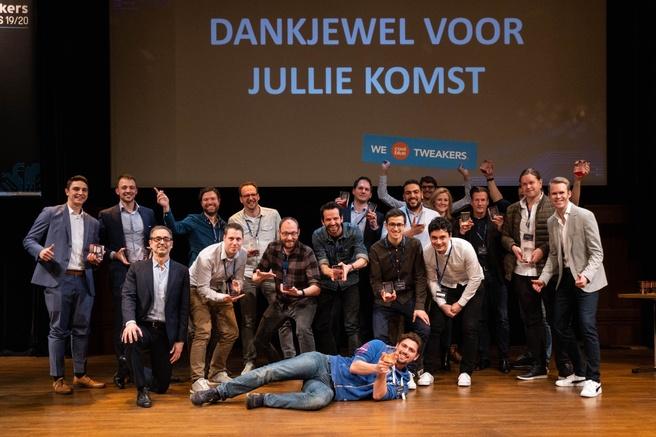 awards groepsfoto