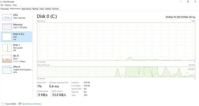 Windows 10 May 2020 Update Taakbeheer