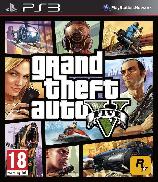 Grand Theft Auto V, PlayStation 3