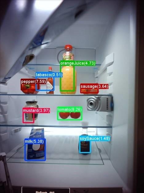 Liebherr koelkastcamera