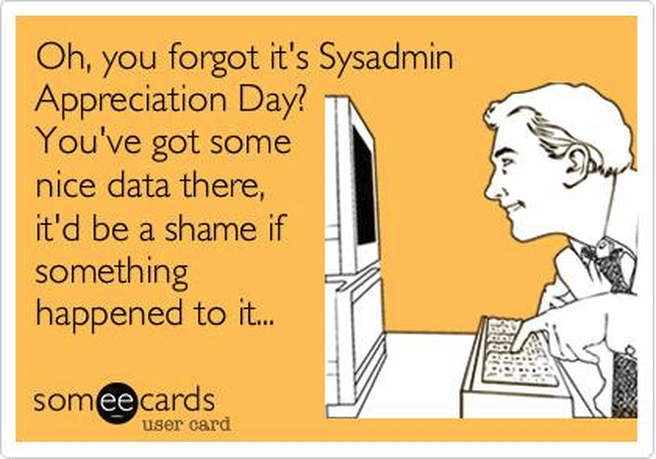 SysAdminDay