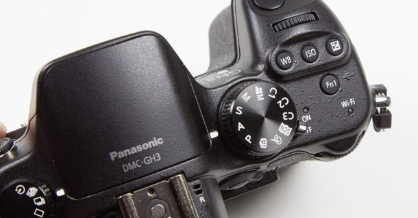 Panasonic Lumix GH3 topplaat