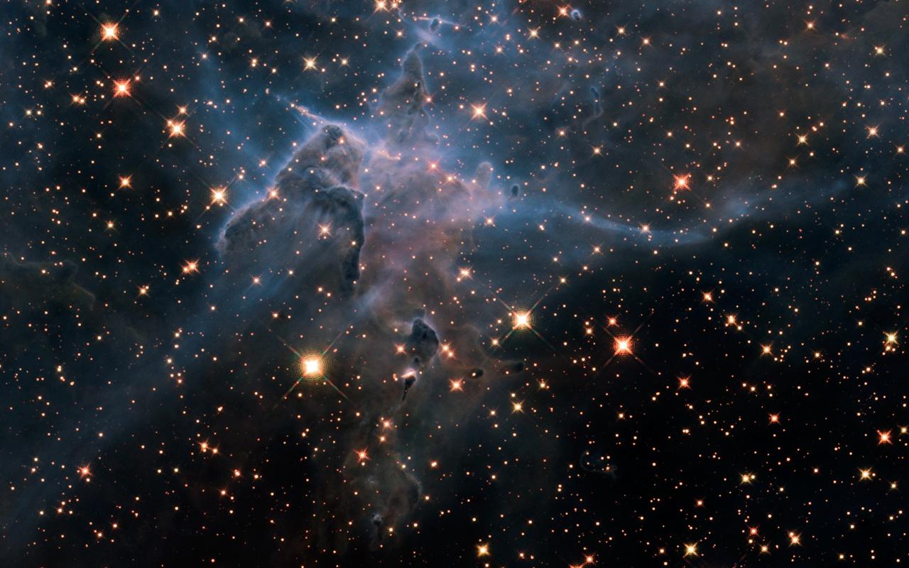 Foto's gemaakt door de Hubble Ruimtetelescoop