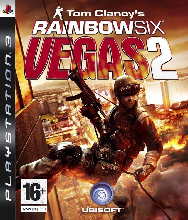 Packshot voor Tom Clancy's Rainbow Six Vegas 2