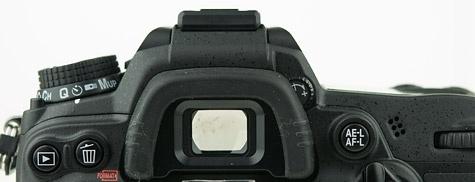 Nikon D7000 zoeker