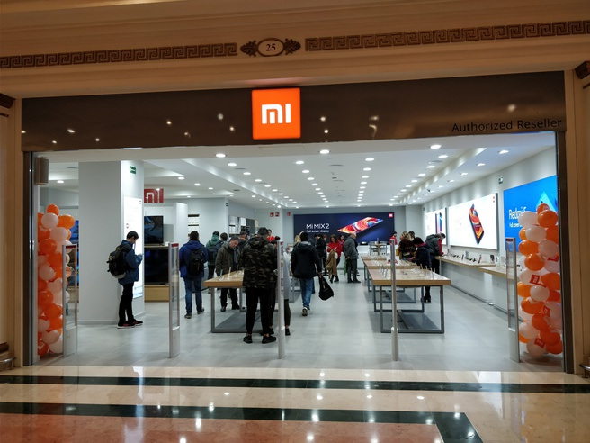Xiaomi-winkel in Barcelona. Bron: China-gadgets.be // https://www.china-gadgets.de/xiaomi-store-barcelona/
