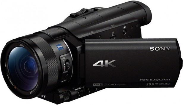 Sony Camcorder FDR-AX100 4K Ultra-HD- (8,9 cm (3,5 Zoll) Display, 60p/50p Zwart