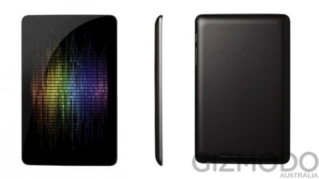 Nexus 7 volgens Gizmodo