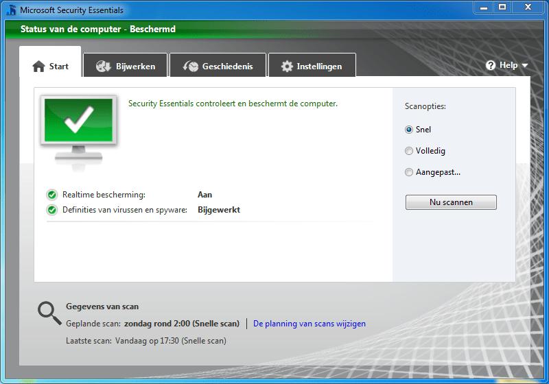 avast security scan niet mogelijk