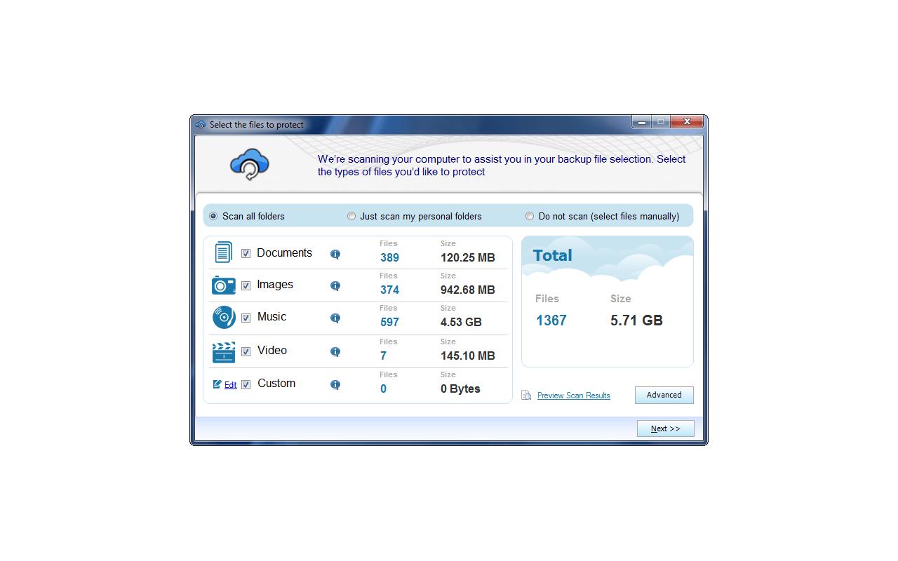 Malwarebytes Secure Backup screenshot