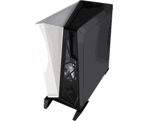 Corsair Carbide Series® SPEC-OMEGA Tempered Glass Mid-Tower ATX Gaming Case - Black/White