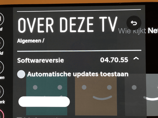 LG OLED 2018 Firmware Update 4 70 50 - AVS Forum | Home